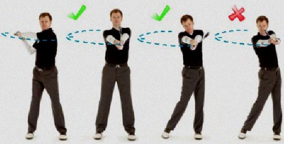 golf swing hand release drill