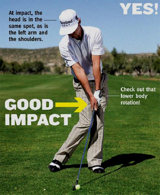 head movement during golf swing