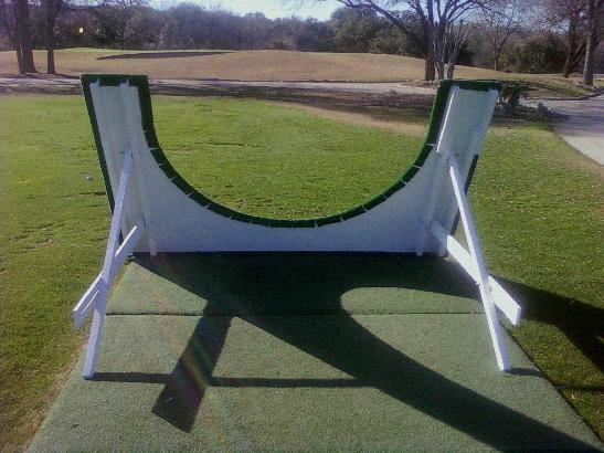 Homemade Golf Swing Plane Board