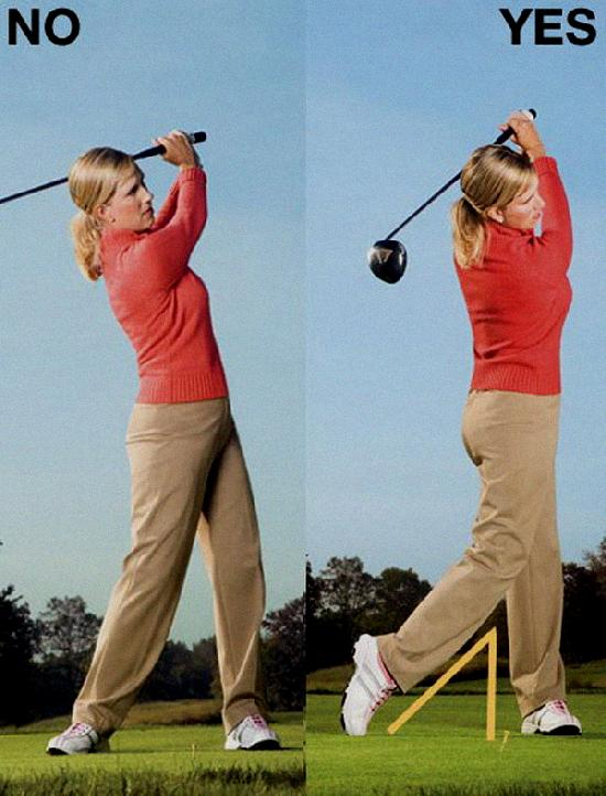 how to rotate hips in golf swing