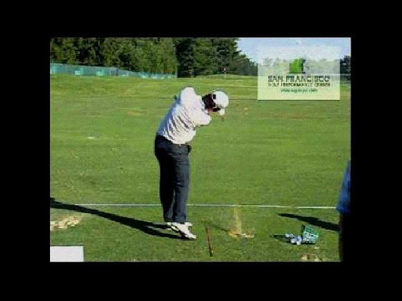 lee westwood golf swing slow motion