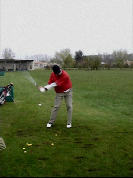 left hand controls golf swing