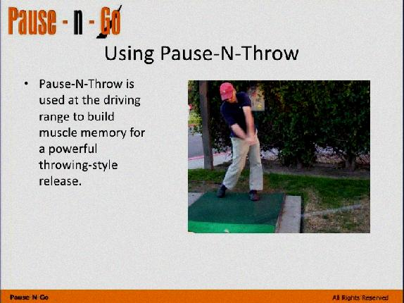 more power in golf swing