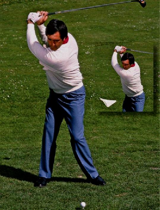 Keeping Right Arm Tucked Golf Swing - Right Arm Tucked Golf