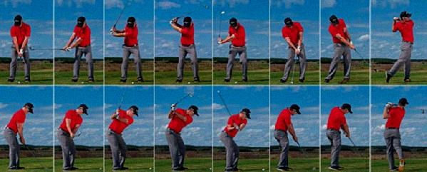 what a golf swing should look like